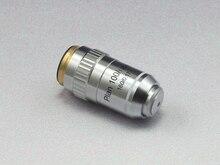 Envío libre, de calidad Superior 100x/1.25 Aceite acromática lente del Objetivo de microscopio biológico Microscopio plan DIN160, RMSThread