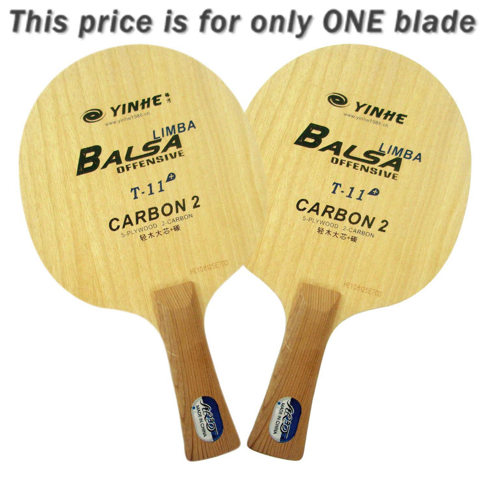 Galaxy Milky Way Yinhe T-11+ T 11+ T11+ Limba Balsa OFF Table Tennis Blade for PingPong Racket