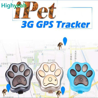 RF V40 3G GPS Anti lost Mini Cat Dogs Tracker Tracking Wifi Geo Fence Alarm Led Lights Rolling Voice monitor Tracking Lifetime