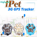 RF-V40 3G GPS Anti-lost Mini Cat Dogs Tracker Tracking Wifi Geo Fence Alarm Led Lights Rolling Voice monitor Tracking Lifetime