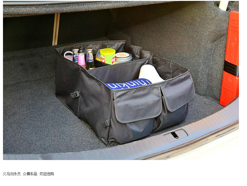 Sensible Car Trunk Storage Box Organizer Storage Bag Trunk For Infiniti Ex25 Ex35 Ex37 Fx35fx37s Fx50s G25 G37 G37s M25 M37 M25l M35hl New Varieties Are Introduced One After Another Car Tax Disc Holders