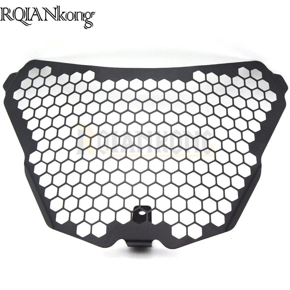 Hot Motorcycle Accessories Headlight Guard Grille Protector Cover Protectors For KTM RC125 RC200 RC390 2016 2015 2014