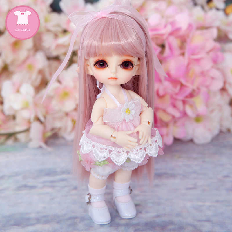 BJD одежда Lutsbjd Tyltyl эльф крошечный Delf тело 1/8 BJD SD милое платье красивая кукла одежда ремонт тела аксессуары