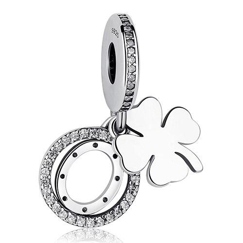 DIY Серебряный Шарм подходят Pandora браслет Бусины стерлингового серебра 925 Любовь мотаться Шарм crystal сердце, цветок, башня, дерево из бисера - Цвет: PY1423