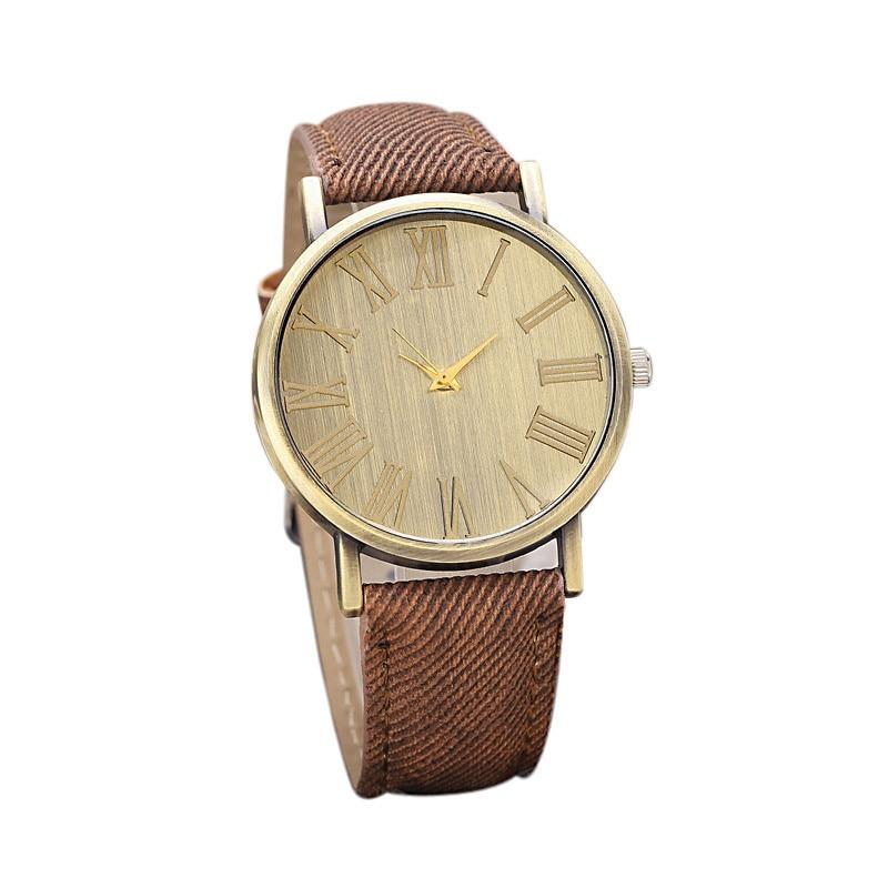 Mance-N2 New Hot Sale Fashion Casual Retro Style designer Quartz Watch Denim Quartz Watches relogio feminino Quality Gift mance ladies brand designer watches