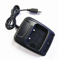 OPPXUN USB Adapter Charger Two Way Radio Walkie Talkie BAOFENG BF 888s USB Charge Dock For