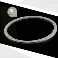 24IN 60CM High Quality Resin Polymer Rubber Anti Slip Glass Universal Rotating Turntable Bearing Swivel Stand