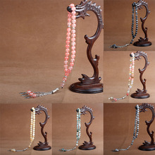 8 millimetri di Pietra Naturale di Cristallo Agate Bead Nappa Del Pendente 33 Perline di Preghiera Islamica Musulmana Tasbih Allah Mohammed Rosario Per Le Donne uomini