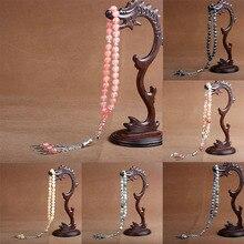 8mm pedra natural ágata cristal grânulo borla pingente 33 contas de oração muçulmano islâmico tasbih allah mohammed rosário para mulher