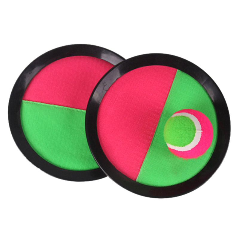 Beach Tennis Outdoor Games Beach Ball Racket Kids Fun Sports Toys Garden Game Throw Catch Ball Game Activity Toys Sucker Disc