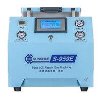 S-959E Borda LCD reparação Integral Avião Montagem e Espumação Máquina Integral bomba de vácuo Embutido PARA samsung S7/S8/ s8 +/S9/S9 +