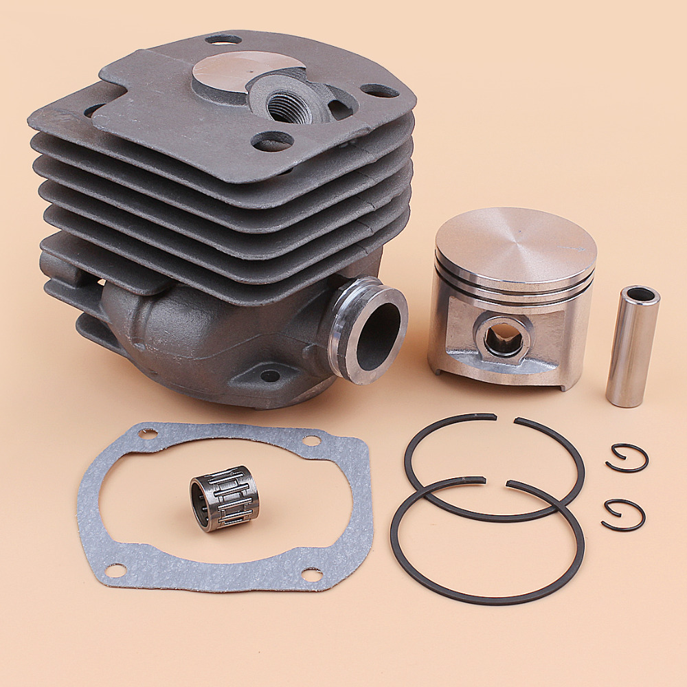 50mm Cylinder Piston Rings Cage Bearing Set For HUSQVARNA 372 XP 372XP 365 371 362 Chainsaw Engine Motor Parts