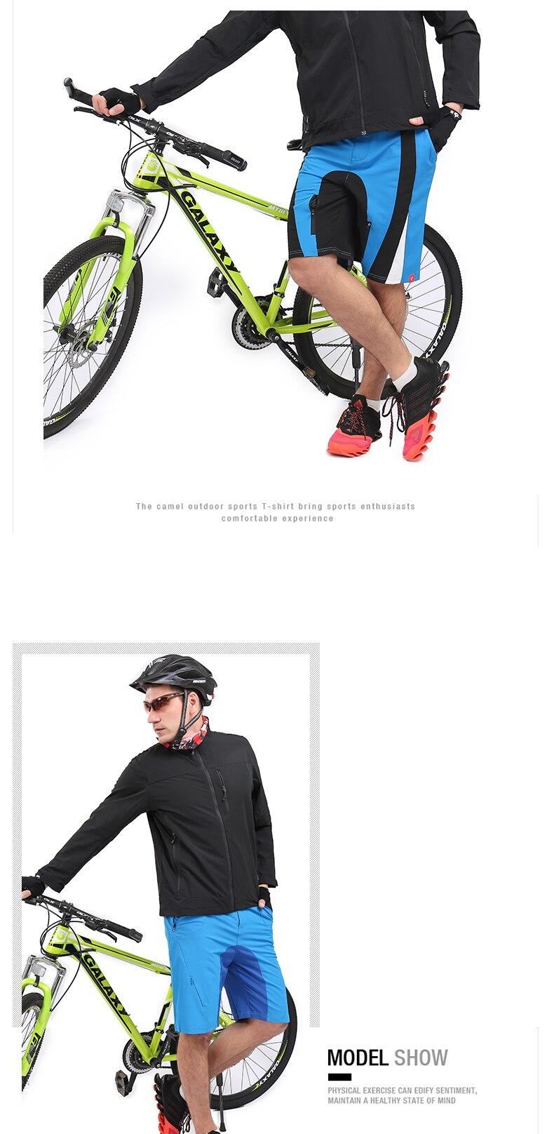 High Quality gel padded cycling shorts