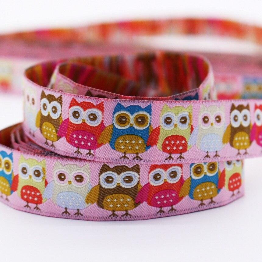 Ձեռագործ ոճով Owl Jacquard Webbing Zakka կարի - Արվեստ, արհեստ և կարի - Լուսանկար 4