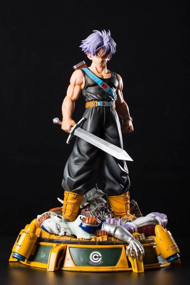 model fans instock dragon ball ucs 50cm future trunks