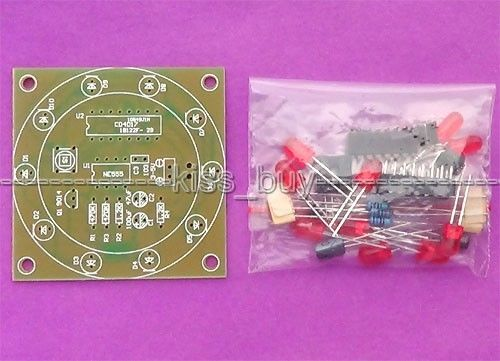 The wheel of fortune suite DIY produced electronic parts training kit