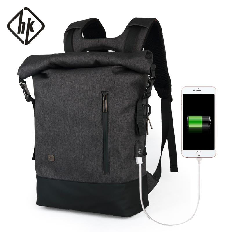 Travel Backpack Aiti Theft Men Travel Bags Laptop Backpack 15.6 Male Waterproof USB Vintage Notebook Schoolbags Teenagers Boys brand backpack male waterproof schoolbags for girls boys teenagers casual travel laptop bags rucksack mochila txt364