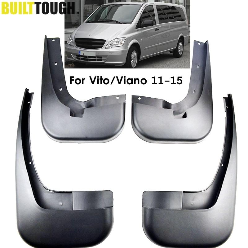 Mercedes Vito Viano W639 2004-2014 Chrome Rear Bumper Protector Guard S.Steel