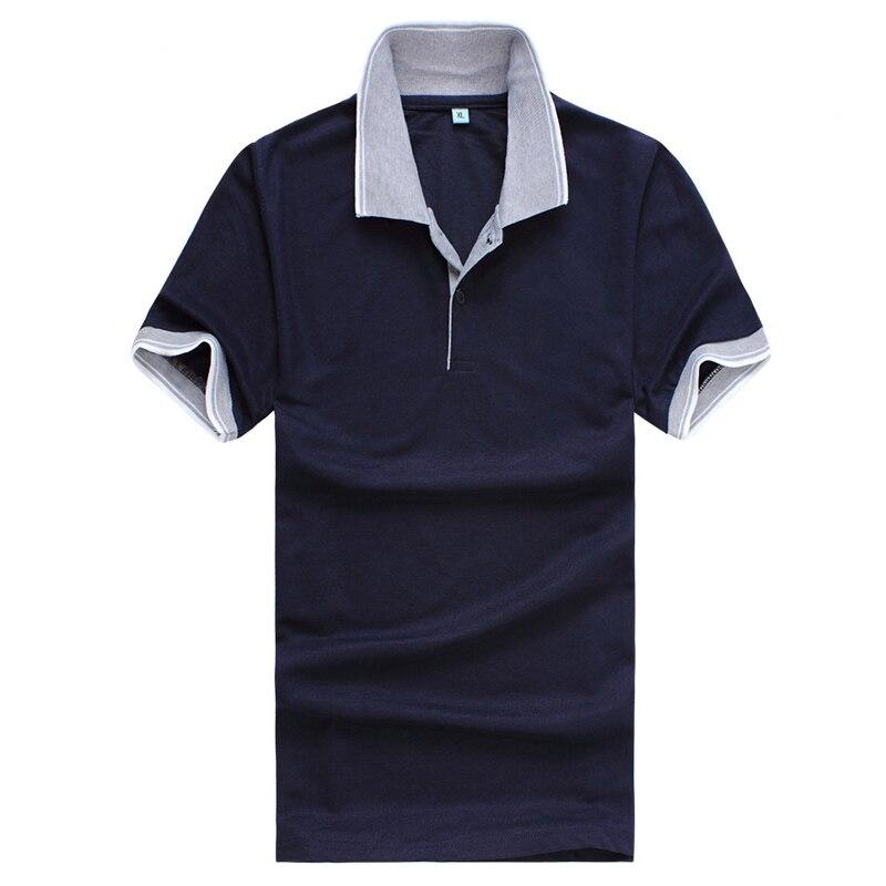 NEWSummer Mens Polo Casual Grey Collar Poloshirt XL-3XL Size 7colors Short Sleeve Man Polo Shirt 6USD Zone Polos PL009
