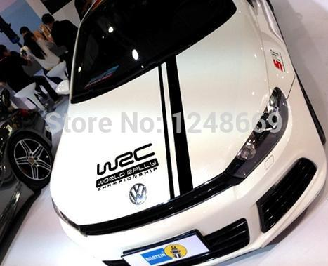 2 pcs set car styling cool wrc racing line car decal stickers for car hood body acessories decoration pvc stickers on aliexpress com alibaba group