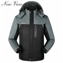 Winterjacke Männer Frauen OutWear Warme Sport Dicke samt Jacke Windjacke Jacken jaqueta masculina Plus größe 6XL Mantel