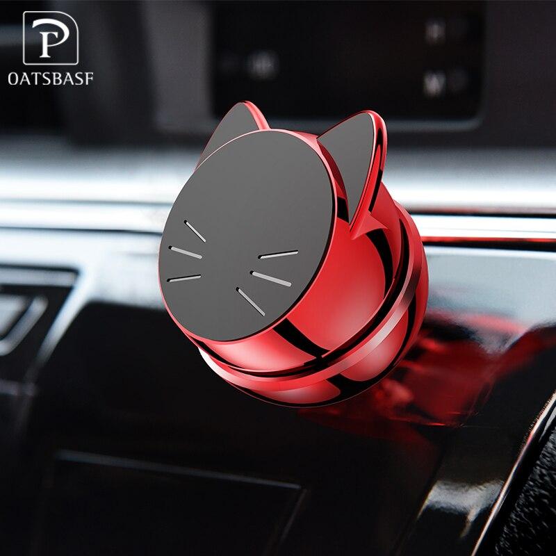 Oatsbasf Универсальный автомобильный держатель телефона на <font><b>360</b></font> градусов GPS магнитный держатель для мобильного телефона для iPhone X Samsung магнит держ&#8230;