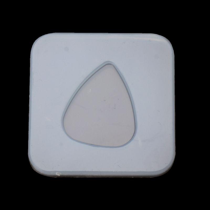 Geometric Triangle Plectrum Silicone Mold Jewelry Pendant Resin Casting DIY Mold Handmade Craft Decoration Epoxy Resin Mold
