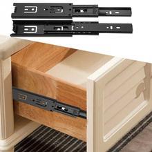 2 шт./лот, Короткие мини направляющие для выдвижных ящиков, направляющая для дома, кухонный ящик, шкаф, мебель, набор аксессуаров