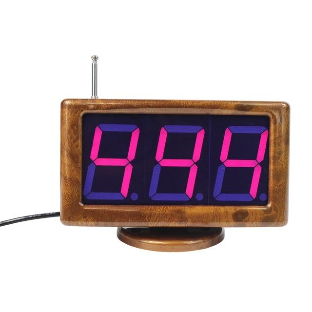 """433.92 MHz 1.8 """"Host Receptor Digital Para Restaurante Garçom Chamando Sistema de Paginação Sem Fio Enfermeira Chamada com Comunicação de Voz F3230A"""