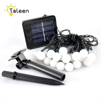 TSLEEN Waterproof 7M Solar Lamps LED String Lights 50 LEDS Outdoor Fairy Holiday Christmas Garlands Solar