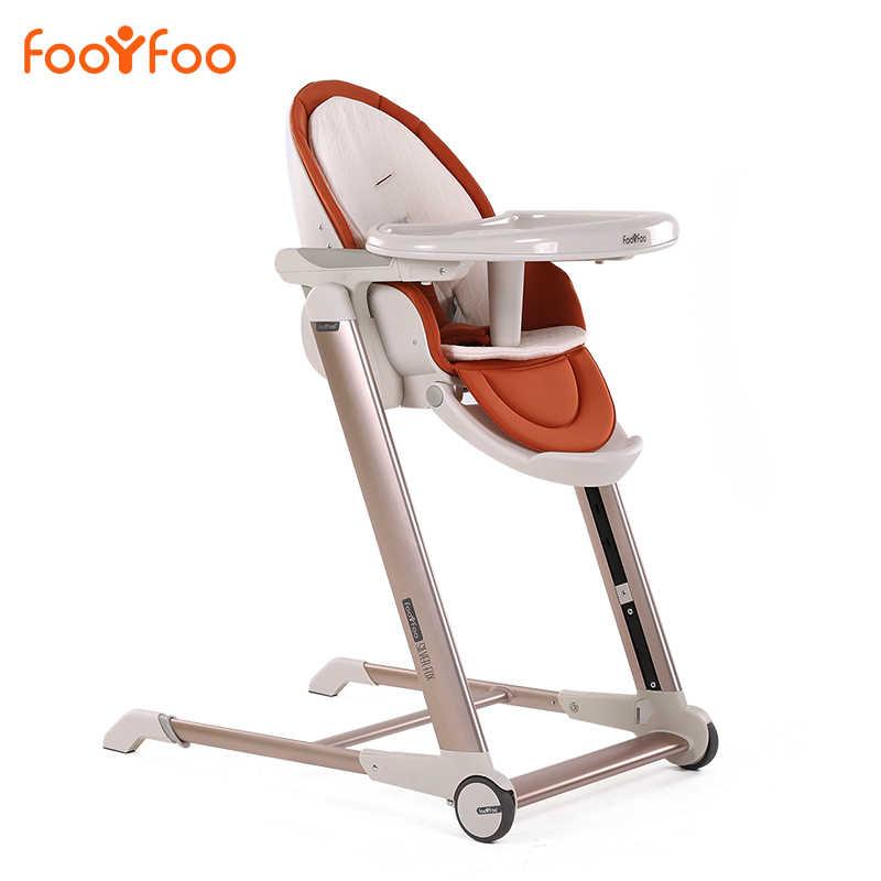 เด็กเก้าอี้รับประทานอาหารยุโรป Luxury เด็กกินเก้าอี้รับประทานอาหารแบบพกพาเด็กทารกกินตารางอาหาร