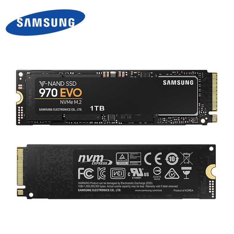 SAMSUNG HDD Original Marke 970EVO Plus Solid State Drive SSD 1TB 250g/500g M.2 V-NAND Hard disk M2 PCIe 3,0x4 Für Laptop Desktop