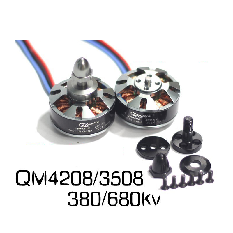 Tarot QM4208 3508 680 380KV CW Brushless Motors Disc Type Motors for S550 650 680 FPV RC Multicopter Quadcopter 6S Lipo Battery ostin gt8r32 x1