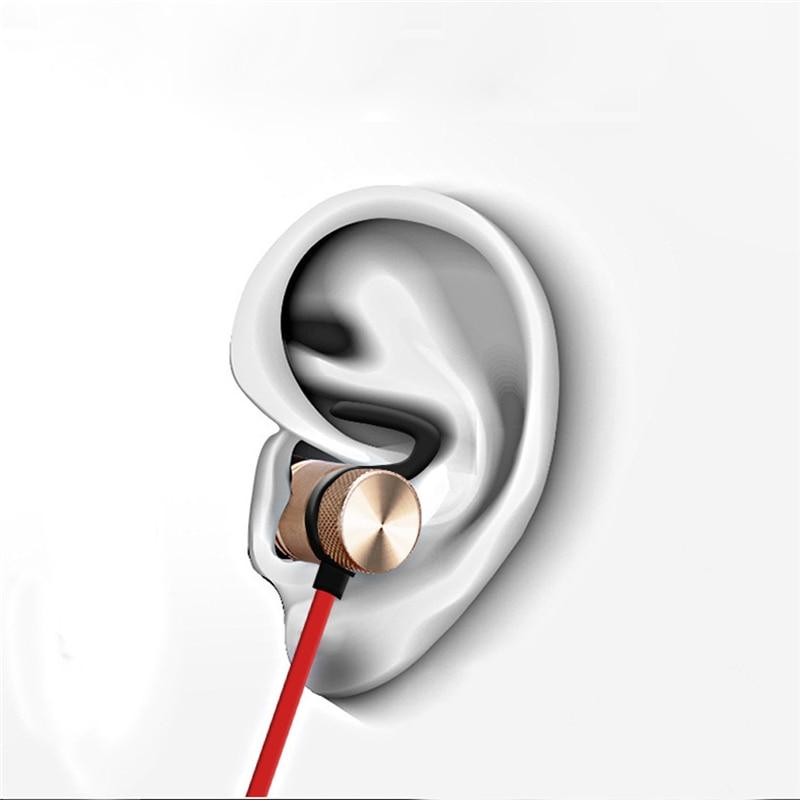 Ímã XT-6 Fones De Ouvido Bluetooth Sem Fio Fone de Ouvido Handsfree Fone De Ouvido De Metal com Microfone para Iphone X xiaomi Fones De Ouvido fone de ouvido 5