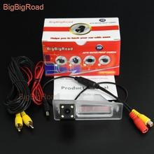 цена на BigBigRoad Car Rear View Reverse Backup Parking CCD Camera For Mazda 3 Mazda3 Axela Sedan BM 2014 2015 2016 2017 Night Vision