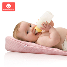 Baby Newborn Feeding Pillow Ergonomic Wedge Anti Spit Milk Bed Nursing Pillow Cushion Pad Memory Foam Infant Sleeping Pillows