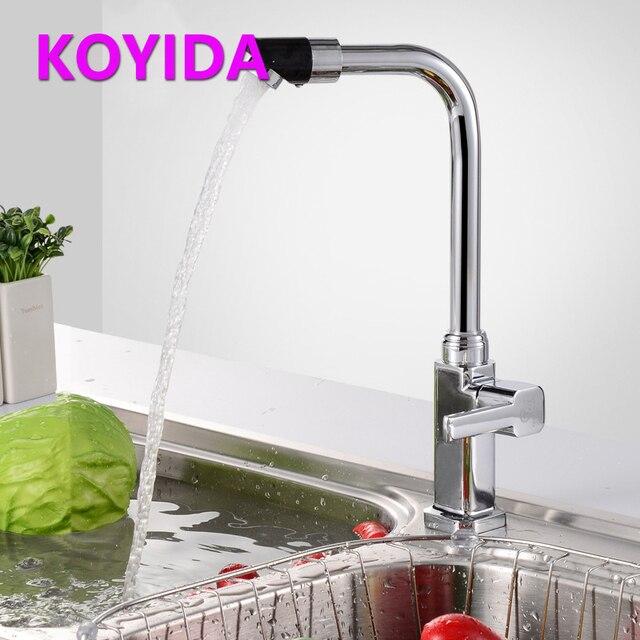 Koyida Acero inoxidable grifo de la cocina sola agua fría del grifo ...