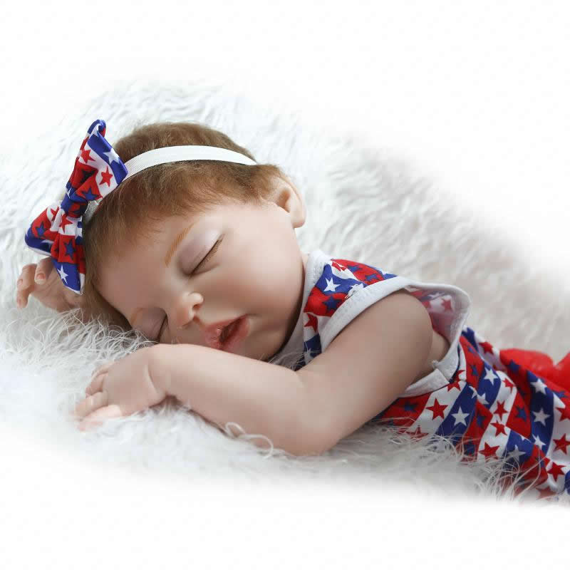 Dolls Reborn 23 Inch Lifelike Princess Girl Full Silicone Vinyl Newborn Baby Doll Handmade Alive Bonecas Kids Christmas Gift 20 inches handmade doll reborn lifelike american girl newborn bebe dolls silicone vinyl baby toddler toy kids new year gift