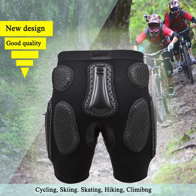 Professional Motorcycle Man and Women Cycling Skiing Hiking Basketball Hip Pads Sport Protectors Breathable Sponge Nappy Brace