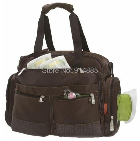 Free Shipping Whole Fisher Price Mummy Bag Multifunctional Diaper Storage Handbag