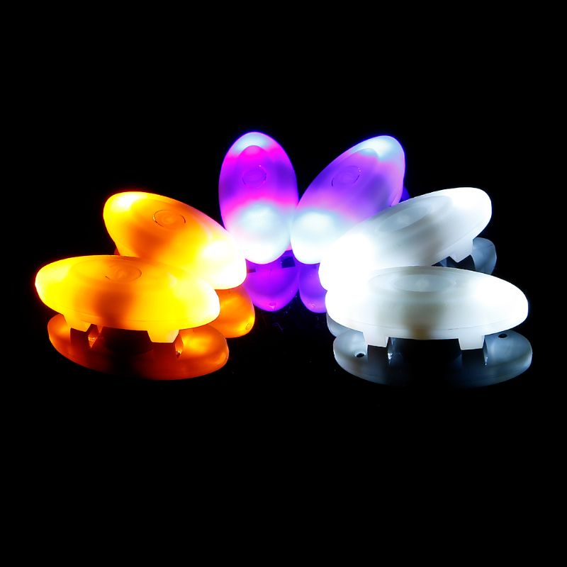 Loyal One Pair Novelty Flashing Shoelace Lights 3 Modes Luminous Led Lace Lamps For Running Skating Lighting Strings