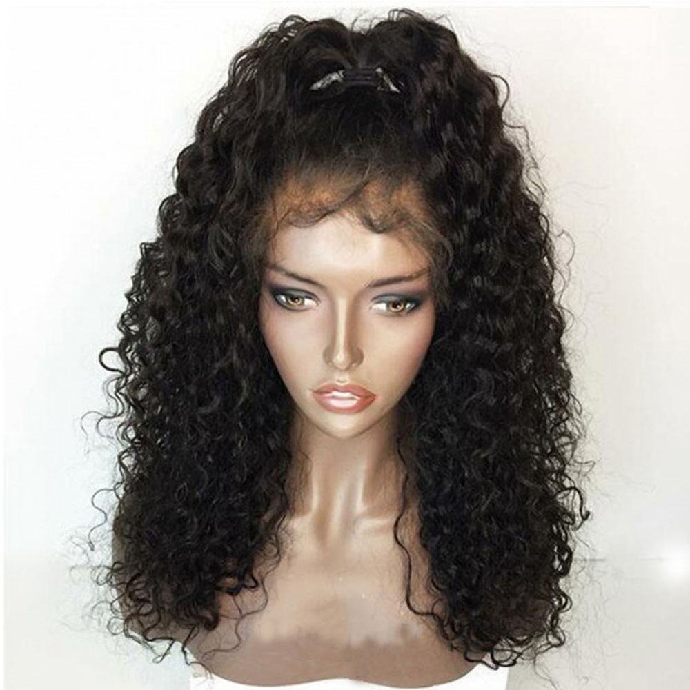 Curly 360 Lace Frontal Wig Human Hair Lace Front Curly Wig Preplucked Lace Wig Frontal 360