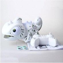 Дистанционное управление Хамелеон 2,4 ГГц ПЭТ интеллектуальная игрушка робот для детей подарок на день рождения забавная игрушка rc животные