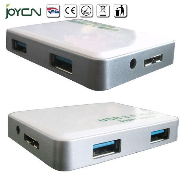 Super Fino USB 3.0 HUB 4 portas com um pé USB Cabo De Dados para o iMac, MacBook, MacBook Pro, MacBook Air, Mac Mini, ou qualquer PC
