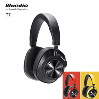 Bluedio T7 Bluetooth Earphone Headphones Wireless User Defined Active Noise Canceling HiFi Sound Headset Mic Face Recognition
