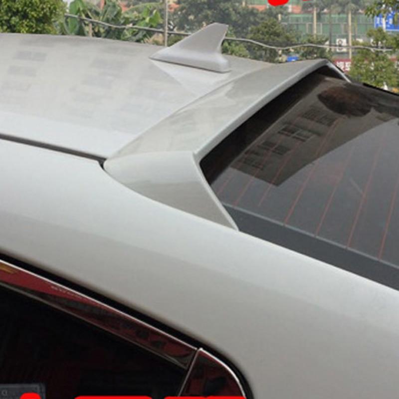 use for Kia cerato K3 spoiler 2016-2017 cerato K3 roof Spoiler High Quality ABS Material Car Rear Wing Primer Rear Spoiler хромовые накладки для авто non branded after market 1 2015 kia cerato k3