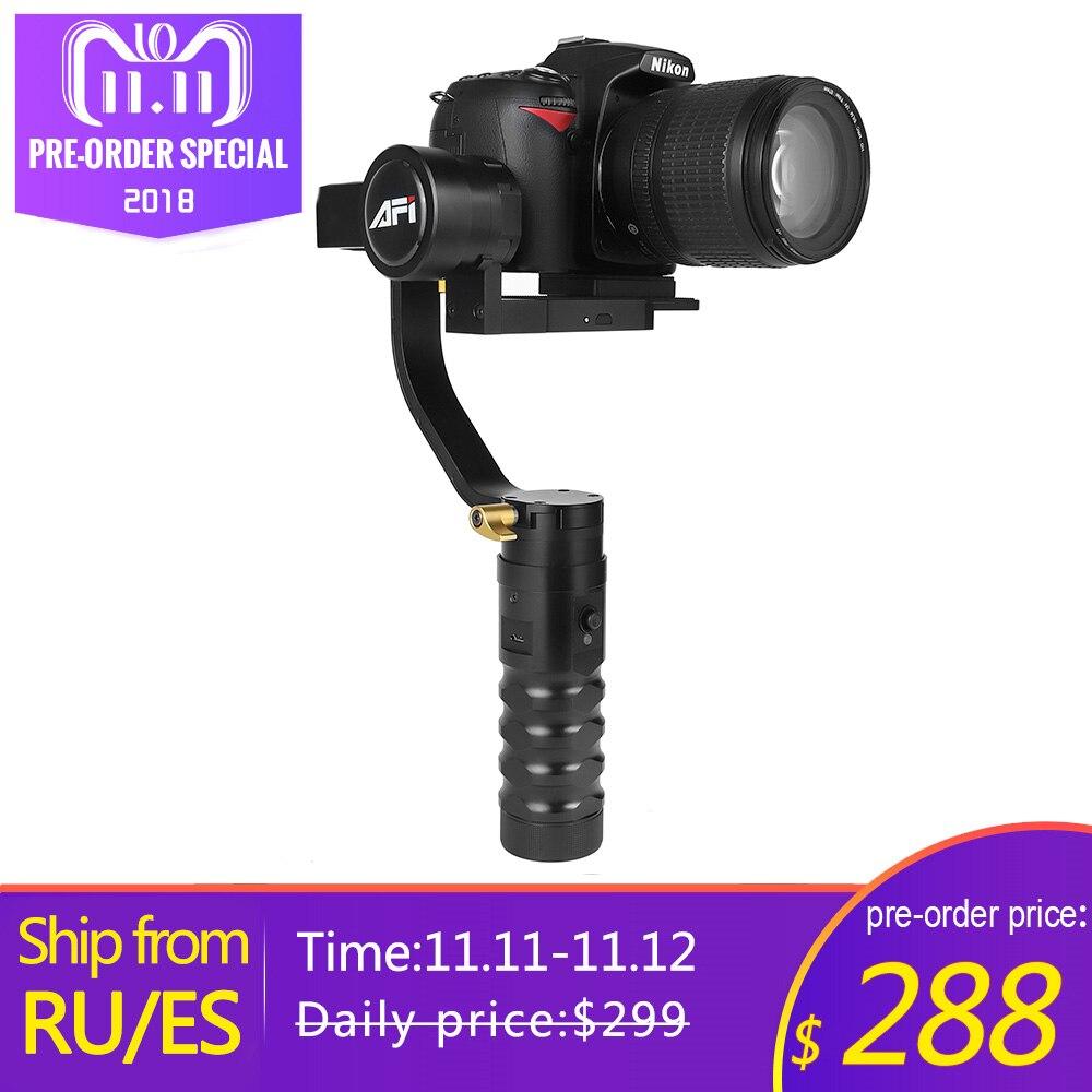 Stabilisateur Pour Caméra VS-3SD 3-Axes De Poche Cardan Vidéo DSLR Mobile Soporte Brushless Pour Canon Nikon avec Servo Suivre focus