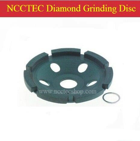 4 ''NCCTEC Diamant DISQUE de meulage | 100mm granit Béton mouture CUP roue | unique 1 rangée unique tête outils diamantés