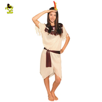 Sexy Indian Woman Costumes Savage Cosplay Carnival Stone Age Halloween Flintstone African Tribal Hunter Clothing