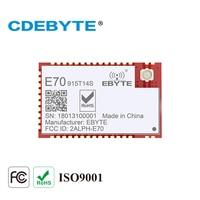 E70-915T14S cc1310 915 mhz rf 송수신기 smd 14dbm ipex 안테나 915 mhz 무선 송신기 및 수신기